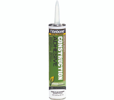 Franklin 7471 Titebond 10 1/2 Ounce Solvent Free Construction Adhesive