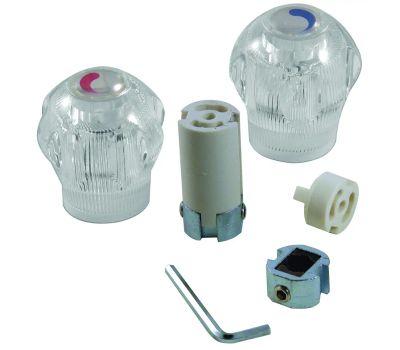Danco 80014 Faucet Handle Universal Large Acrylic 2 Pack