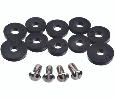 Danco 80790 Faucet Washers Flat And Screw Assortment 14 Piece
