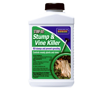 Bonide 2746 Stump and Vine Killer, Liquid, Gold/Yellow, 8 Ounce Bottle