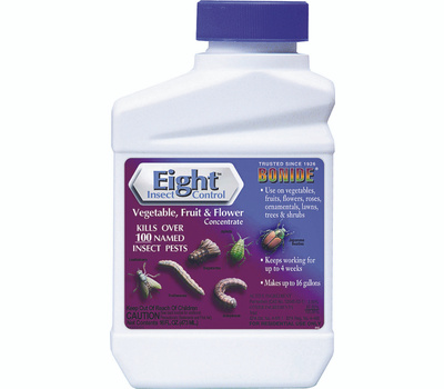 Bonide 442 Eight Vegetable Fruit Flower Spray Insecticide Concentrate 1 Pint