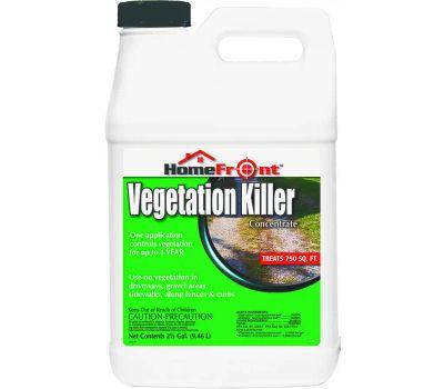 Homefront 105141 Vegetation Killer, Liquid, Amber/Light Brown, 2.5 Gal