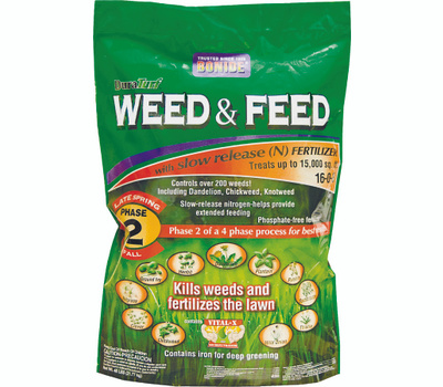 Bonide 60425 Weed/Feed 15m Sq Ft Phase 2