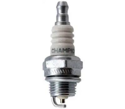 Champion 858 Spark Plug, 0.023 to 0.028 in Fill Gap, 0.551 in Thread, 3/4 in Hex, Copper