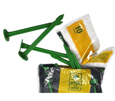 Easy Gardener 801 Bio Fabric Pegs 10 Pack