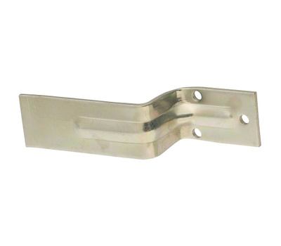 National Hardware N235-309 Open Bar Holder For 2 By 4 Lumber 6-1/4 Inch By 1-1/2 Inch Zinc Plated Steel