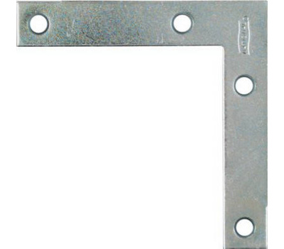 National Hardware N266-544 Flat Corner Iron Brace 3-1/2 By 5/8 By 0.07 Inch Zinc Plated Steel Bulk