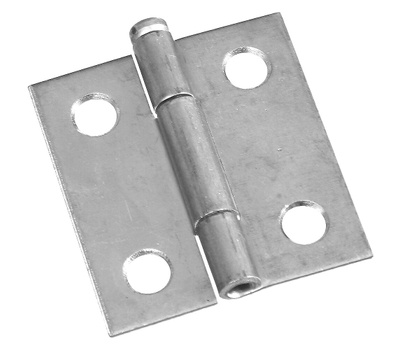 National Hardware N141-721 Removable Pin Narrow Hinge 1-1/2 By 1-7/16 Inch Zinc Plated Steel Bulk