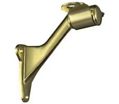 National Hardware N243-642 Traditional Heavy Die Cast Handrail Bracket Bright Brass