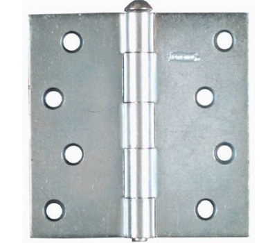National Hardware N195-677 Removable Pin Broad Hinge 4 Inch Zinc Plated Steel 2 Pack