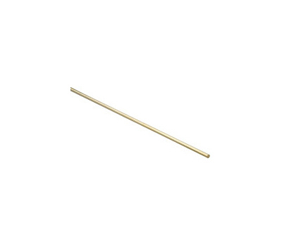 National Hardware N215-244 Smooth Rod Solid Brass 1/4 Inch By 36 Inch
