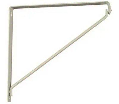 National Hardware N234-401 Closet Shelf Bracket White
