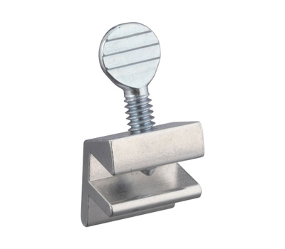 National Hardware N236-687 Movable Window Stop Aluminum Finish Bulk