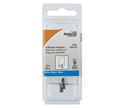 National Hardware N260-224 Adhesive Picture Hangers 5 Pack