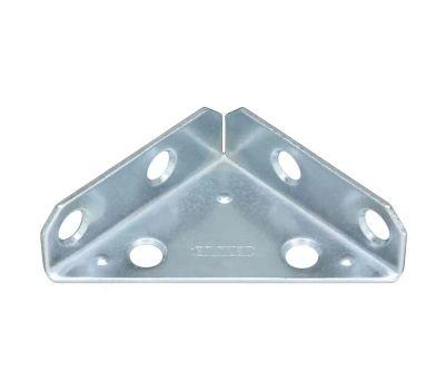 National Hardware N337-709 Reinforced Triangle Corner Brace 2 Inch Zinc Plated Steel Bulk