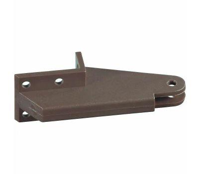 National Hardware N349-308 Lanai Style 90 Degree Corner Replacement Jamb Bracket Bronze