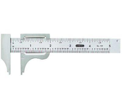 General Tools 729 5 Inch Pocket Caliper