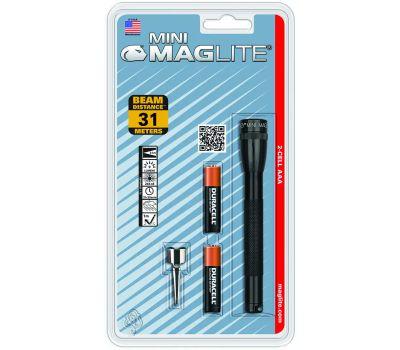 Mag Instrument M3A016 Mini Maglite Flashlight 2 Aaa