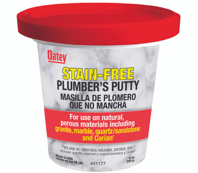 Oatey 31177 Plumber's Putty, Solid, off-White, 9 Ounce