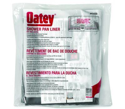 Oatey 41630 Shower Pan Liner Kit 5 By 6