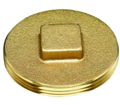 Oatey 42370 Clean Out Plug Brass 2In
