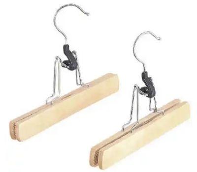 Whitmor 6026-310 Nat Wood Slack Hanger