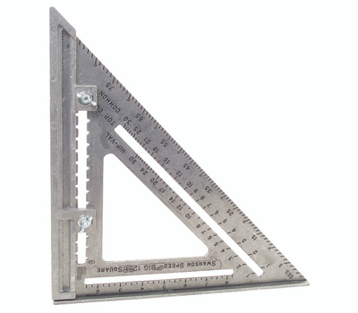 Swanson Tool S0107 12 By 12 Inch Framing Square