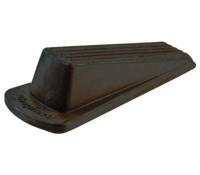Shepherd Hardware 9133 Traditional Heavy Duty Wedge Door Stop Brown 1 Pack