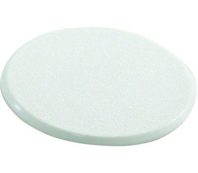 Shepherd Hardware 9552 Wall Guard Self Adhesive 5 Inch Round White Paintable Plastic
