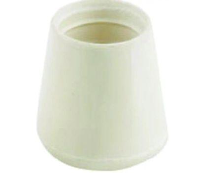 Shepherd Hardware 9754 7/8 Inch Off White Rubber Leg Tips Bulk