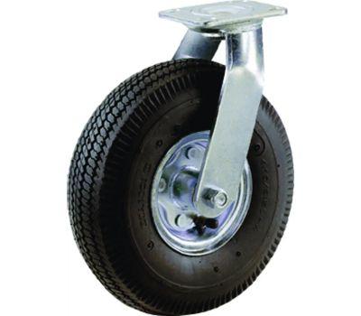 Shepherd Hardware 9794 8 Inch Pneumatic Wheel Swivel Plate Caster