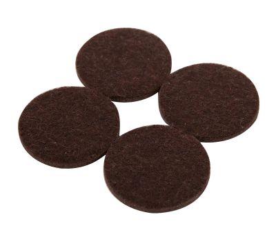 Shepherd Hardware 9863 Pad Felt Heavy Duty Adhesive Brown 1-1/2 Inch 8 Pack