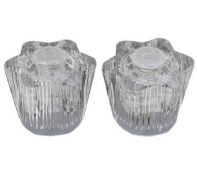 Brass Craft SH3056 Plumb Shop Acrylic Lavatory Handles Broach J Clamshell