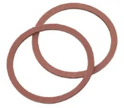 Brass Craft SCB0206 Plumb Shop Red Pressed Fiber Cap Thread Gasket 1.154 Inch By.947 Inch