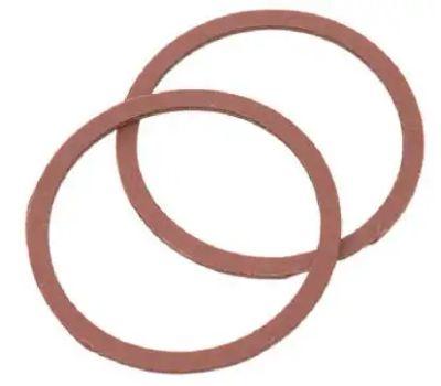 Brass Craft SCB0264 Plumb Shop Red Pressed Fiber Cap Thread Gasket 1.25 Inch By 1.07 Inch