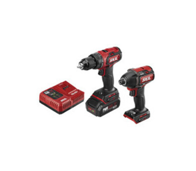 Skil CB743701 Combo Kit, Tools Included: Yes, Battery Included: Yes