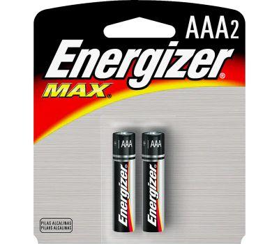 Energizer E92BP-2 Alkaline Aaa Battery Pack Of 2