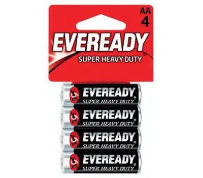 Energizer 1215BP-4 Eveready 4 Pack Super Heavy Duty Aa Battery