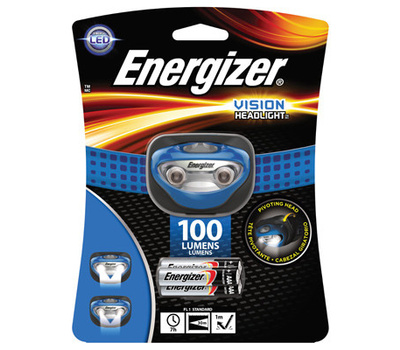 Energizer HDA32E Headlight 2 Led 100lumen