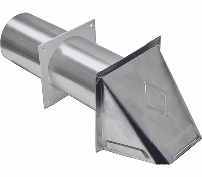 Lambro 344 4 Inch Aluminum Vnt Head With Standard Tail Piece