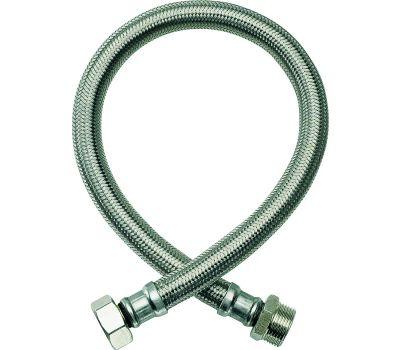 Fluidmaster B2H18 No Burst Water Heater Connector Flexible Braided 18 Inch