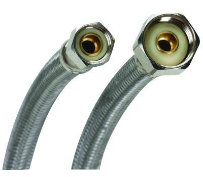 Fluidmaster B1FV20 No Burst 3/8 Comp X 1/2Fip By 20 Faucet Supply
