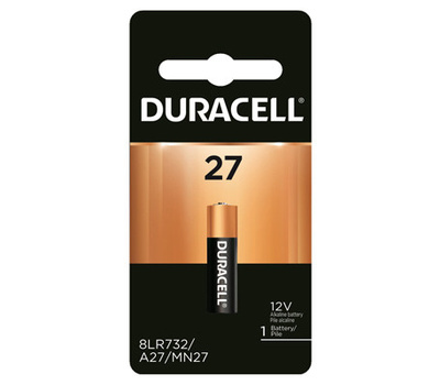 Duracell MN27BPK Battery Alkaline Security 12v