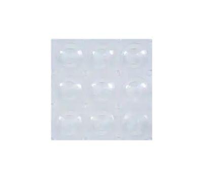 Kenney KN61292 Mat Bath Clear Bubbles 15x31in