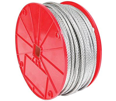 Baron 695937 Cable Galv Unctd 3/16inx250ft