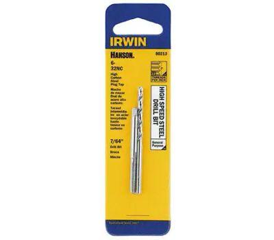 Irwin 80213 Hanson 6 32 Tap #35 Drill Combo Pack