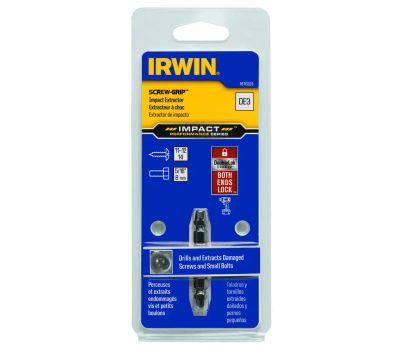 Irwin 1876223 Impact Screw-Grip Double-Ended Screw Extractor, Hss