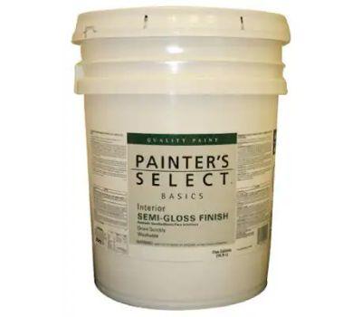 General Paint VSG8-5G Painters Select V Semi Gloss 5 Gallon White Semi Gloss Enamel