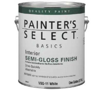 General Paint VSG8-GL Painters Select Gallon Of White Semi Paint
