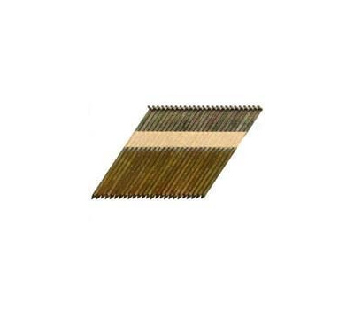 National Nail 0600171 Pro Fit Paper Collated Framing Nails 3 Inch By 0.120 Smooth Shank 30 Degree Clipped Head 2500 Pack